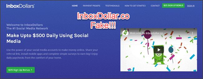 InboxDollar faux site