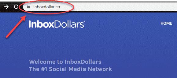 Nom de domaine Inboxdollar.co