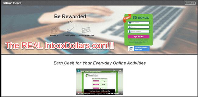 le vrai InboxDollars.com
