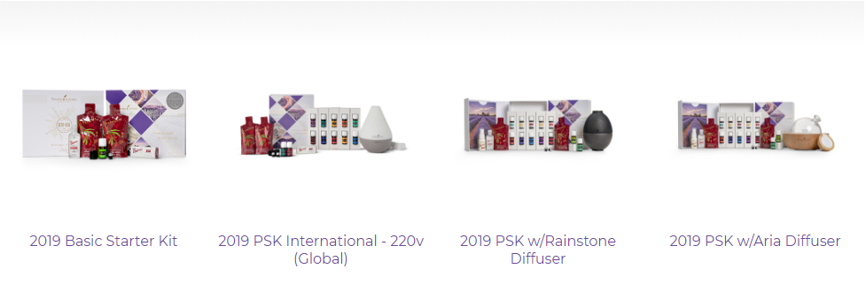 packs de démarrage young living