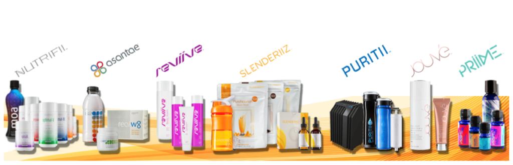 Les produits ARIIX
