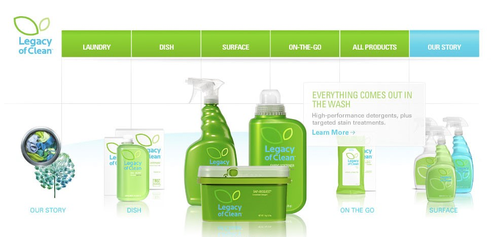 Amway Legacy of Clean